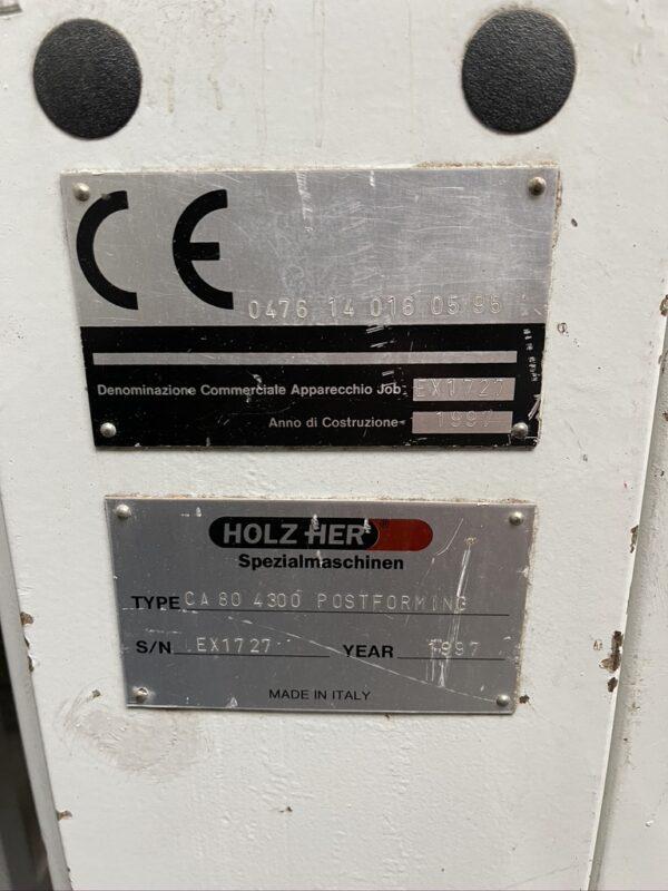 Piła panelowa Holzher CA 80 4300 mm