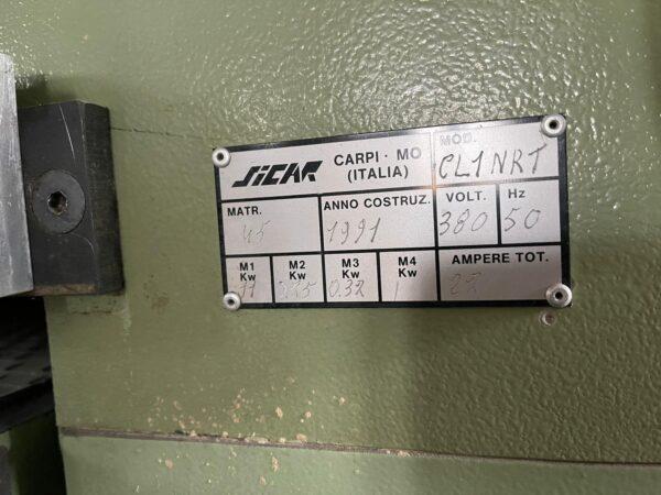 Szlifierka szerokotaśmowa Sicar CL1 NRT 1000