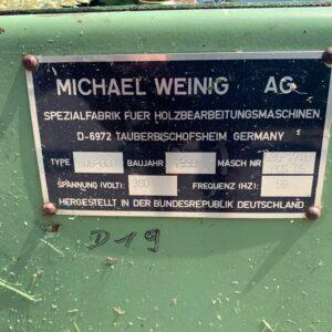 Przenośnik taśmowy Weinig AG